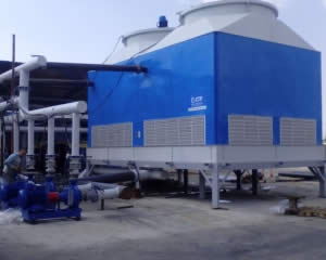 GRP Cooling tower efficiency