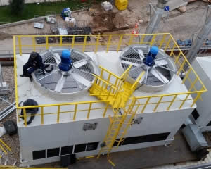 Cooling tower working principle