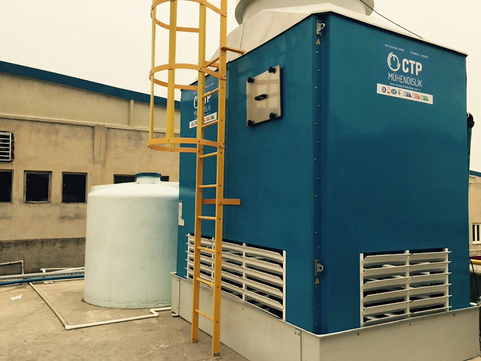 What are the principles of cooling tower