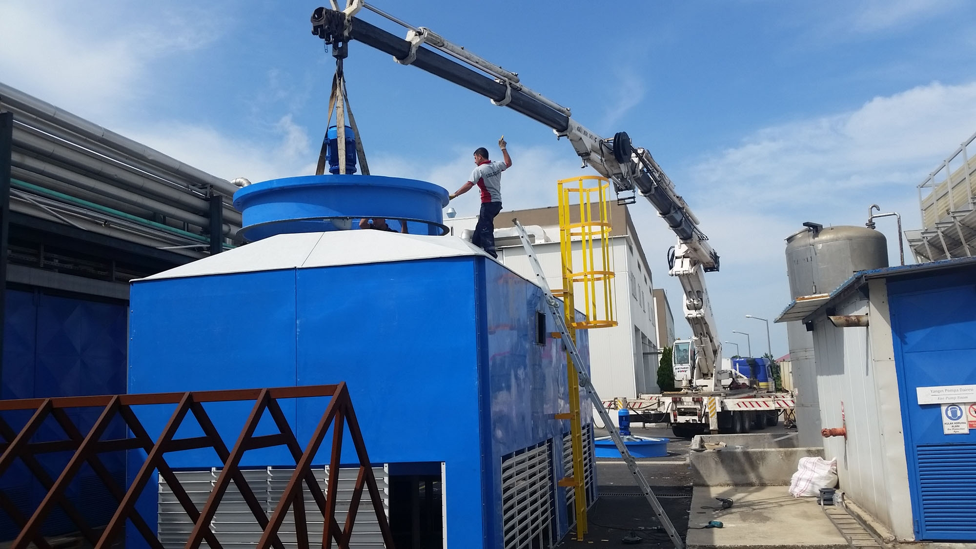 Shipping Cooling Tower,Process Cooling Tower,Shipping Process,Energy Saving Industrial Process Cooling System,Shipping Closed Circuit Cooling Tower, Evaporative Condenser