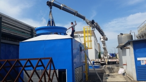 Shipping Process in Cooling Tower