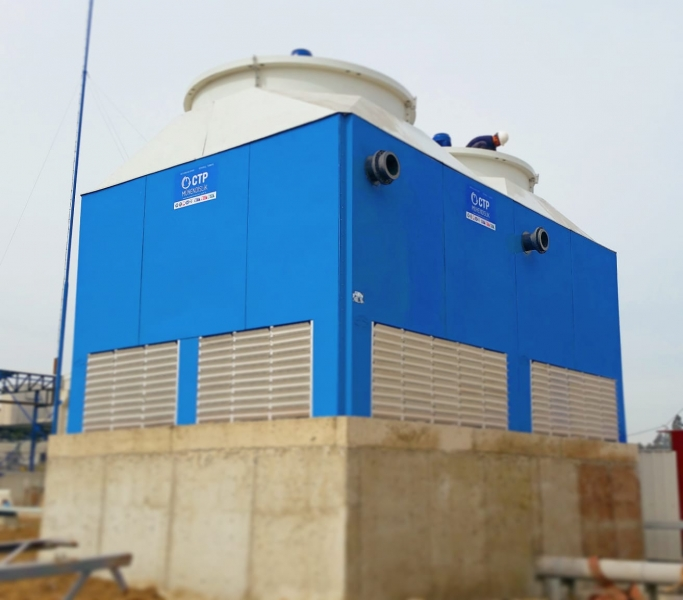 Saudi Arabia Cooling Tower Suppliers Cooling tower working