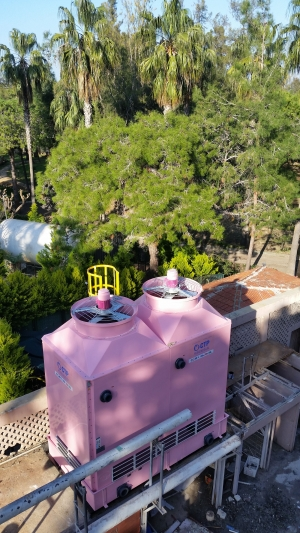 Cooling tower installation in Algeria